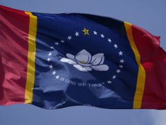 The new flag chosen by voters in Mississippi (Rogelio Solis/AP)