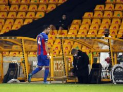 Luka Milivojevic has endured a frustrating start to the season for Crystal Palace (Andrew Boyers/PA)