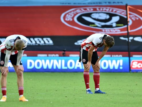 Sheffield United have made a dreadful start to the Premier League (Rui Vieira/PA)