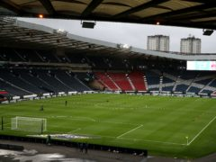 Empty stadiums are causing major financial issues for Scottish sport (Andrew Milligan/PA)
