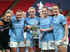 Manchester City lifted the Women's FA Cup (Catherine Ivill/PA)