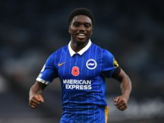 Tariq Lamptey is suspended for Brighton's game wtih Liverpool (Mike Hewitt/PA)