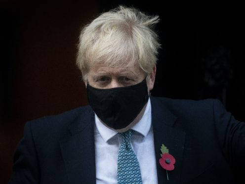 Prime Minister Boris Johnson announced severe restrictions in England over the weekend (Victoria Jones/PA)