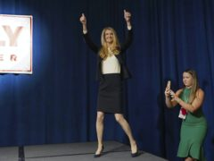 Republican candidate Kelly Loeffler (AP)