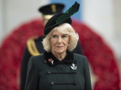 The Duchess of Cornwall during a visit to the Field of Remembrance (Eddie Mulholland/The Daily Telegraph/PA)