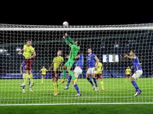 Sean Dyche thinks Burnley have enough firepower despite their goalless draw at Brighton (Richard Heathcote/PA)