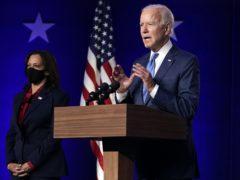 Former Vice President Joe Biden speaks in Wilmington (Carolyn Kaster/AP)