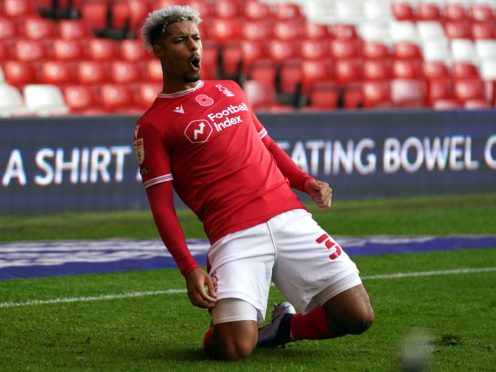 Lyle Taylor was on target for Forest (Zac Goodwin/PA)