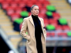 Casey Stoney believes Manchester United Women are ahead of schedule going into Saturday's derby with Manchester City Women (Mike Egerton/PA)