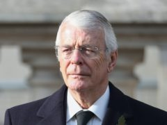 Former prime minister John Major (Chris Jackson/PA)