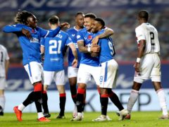 Rangers scored eight against sorry Hamilton (Jane Barlow/PA).