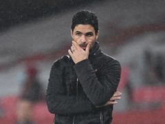 Arsenal manager Mikel Arteta had plenty to contend with after the international break. (Andy Rain/PA)