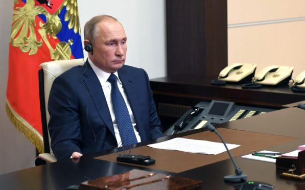 Any announcement will come with full protocol, according to the Kremlin (Alexei Nikolsky, Sputnik, Kremlin Pool Photo via AP)