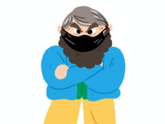 Brian Blessed in the new digital storybook (Wise Protec/PA)