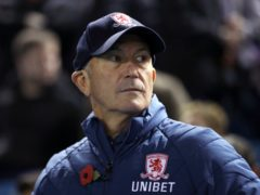 Tony Pulis, pictured, has succeeded Garry Monk at Sheffield Wednesday (Tim Goode/PA)