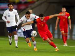 Tom Lawrence was given an opportunity against the United States (David Davies/PA)