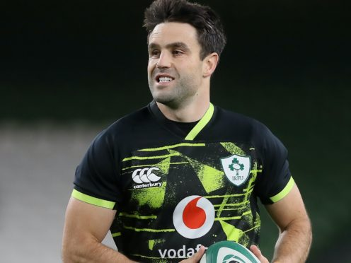 Ireland's Conor Murray began on the bench for the Autumn Nations Cup victory over Wales (Brian Lawless/PA)