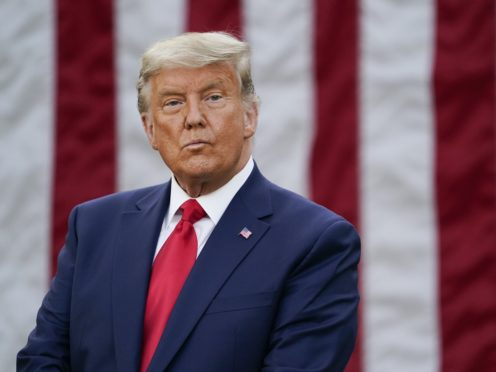 Donald Trump continues to dispute the election result (AP Photo/Evan Vucci, File)
