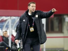 Ian Baraclough and Northern Ireland could learn their fate on Monday (Florian Schrotter/PA)