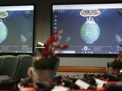 The North American Aerospace Defence Command has announced that Norad will track Santa on December 24 (David Zalubowski/AP)