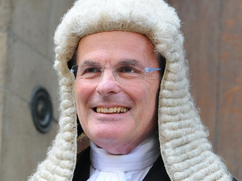 Lord Dyson, former Master of the Rolls and head of civil justice (Lauren Hurley/PA)