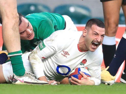 England wing Jonny May (Adam Davy/PA)