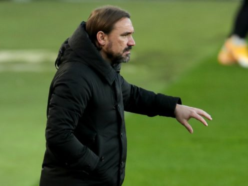 Norwich manager Daniel Farke hailed his side's display in the win at Stoke (Richard Sellers/PA)