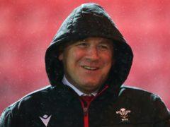 Wales head coach Wayne Pivac celebrated his first win in seven games against Georgia (David Davies/PA)