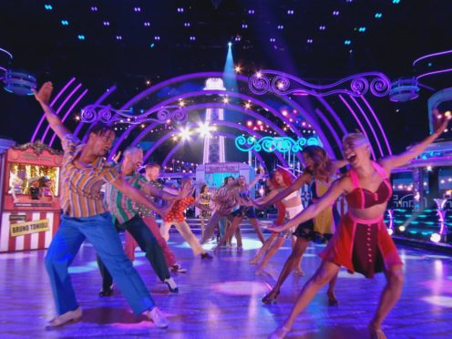 The latest celebrity has been eliminated from Strictly (Guy Levy/BBC/PA)