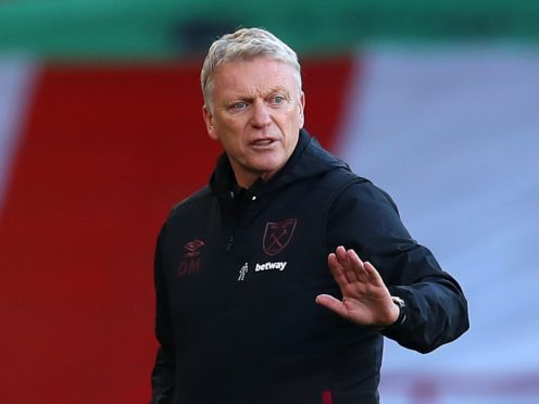 """West Ham manager David Moyes is """"dead keen"""" for his side's run of form to continue (Cath Ivill/PA)"""