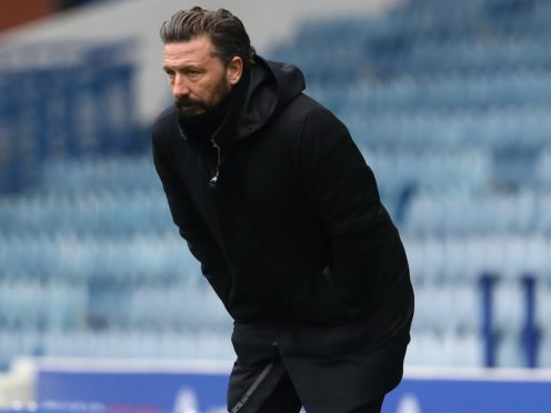 Aberdeen manager Derek McInnes has selection issues (Andrew Milligan/PA)