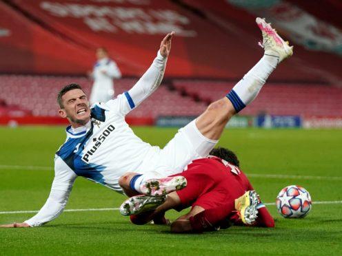 Liverpool were beaten at Anfield (Jon Super/PA)