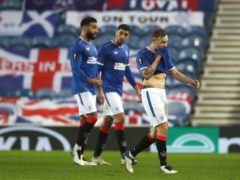 Rangers were held at home by Benfica (Andrew Milligan/PA)