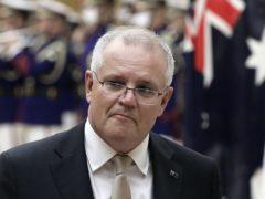 Australian Prime Minister Scott Morrison (Kiyoshi Ota/Pool Photo via AP, File)