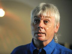 David Icke has been permanently suspended from Twitter for coronavirus misinformation (Anna Gowthorpe/PA)