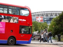 Who is on the bus for England and heading to Wembley next year?