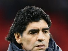 Diego Maradona was one of the world's greatest ever footballers (Martin RIckett/PA).