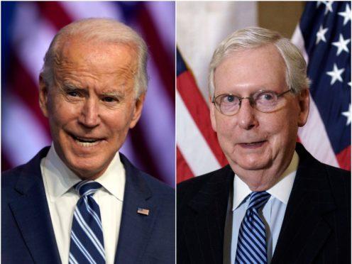 Joe Biden and Mitch McConnell (Carolyn Kaster/J. Scott Applewhite/AP)