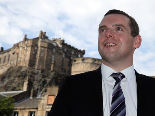 Scottish Conservative leader Douglas Ross used his conference speech to outline his alternative vision for Scotland (Andrew Milligan/PA)