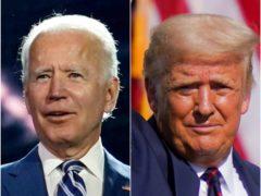 Joe Biden and Donald Trump (Carolyn Kaster/John Minchillo/AP)