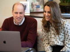 The Duke and Duchess of Cambridge have chatted via video with fathers supported by the charity Future Men (Kensington Palace/PA)