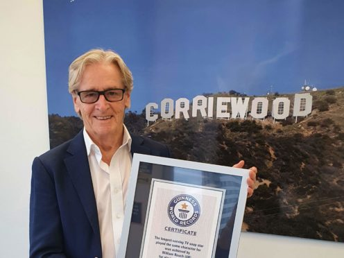 William Roache is the longest running TV soap star, according to Guinness World Records (AJ Dean/ITV Studios)