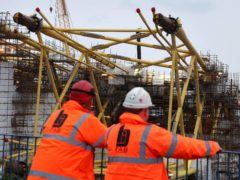 The Scottish Government cannot currently legally provide more financial support for BiFab, MSPs were told (Andrew Milligan/PA)