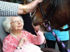 A Covid-19 survivor celebrates her 100th birthday in a care home (Princess Christian CareCentre/Nellsar)