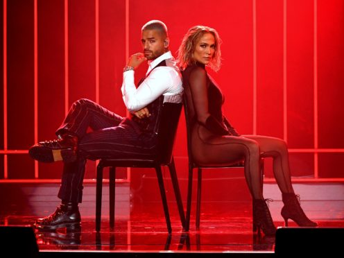 Jennifer Lopez delivered a scorching performance alongside Columbian singer Maluma at the American Music Awards (Kevin Mazur/AMA2020/Getty Images for dcp)
