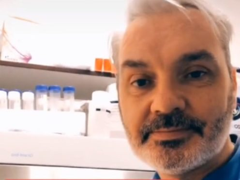 A group led by researchers and clinicians called Team Halo is using TikTok to help 'reassure' users of the safety of vaccines (Dr Paul F. McKay and Dr. Anna Blakney)