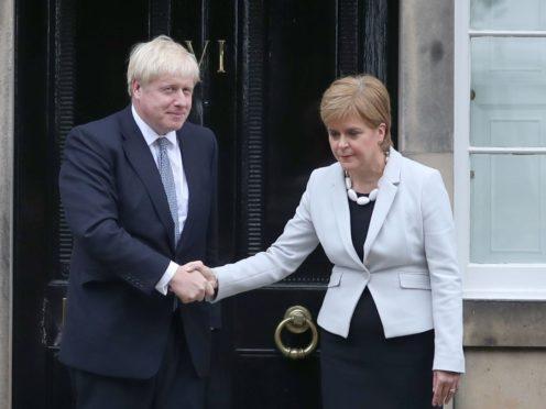 Boris Johnson is a 'wholehearted supporter' of devolution, Scottish Secretary Alister Jack has insisted. (Jane Barlow/PA)