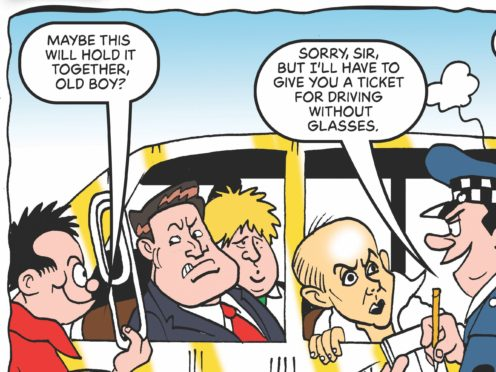 The special edition of the comic, dubbed BeanOLD, will be a pull-out inside the regular Beano (Beano/PA)