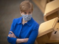 First Minister Nicola Sturgeon said Scots have a 'personal responsibility' to respond to Test and Protect coronavirus tracers (Jane Barlow/PA)