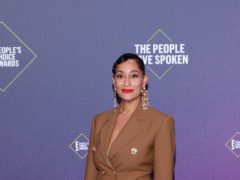 Actress Tracee Ellis Ross hailed the influence of her mother, the singer Diana Ross, after being honoured with the fashion icon award at the E! People's Choice Awards (Rich Polk/E! Entertainment/NBCU Photo Bank via Getty Images)